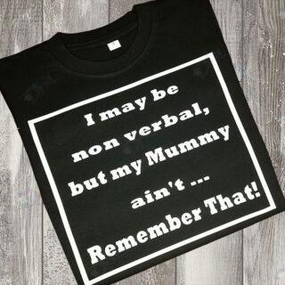 I may be non verbal